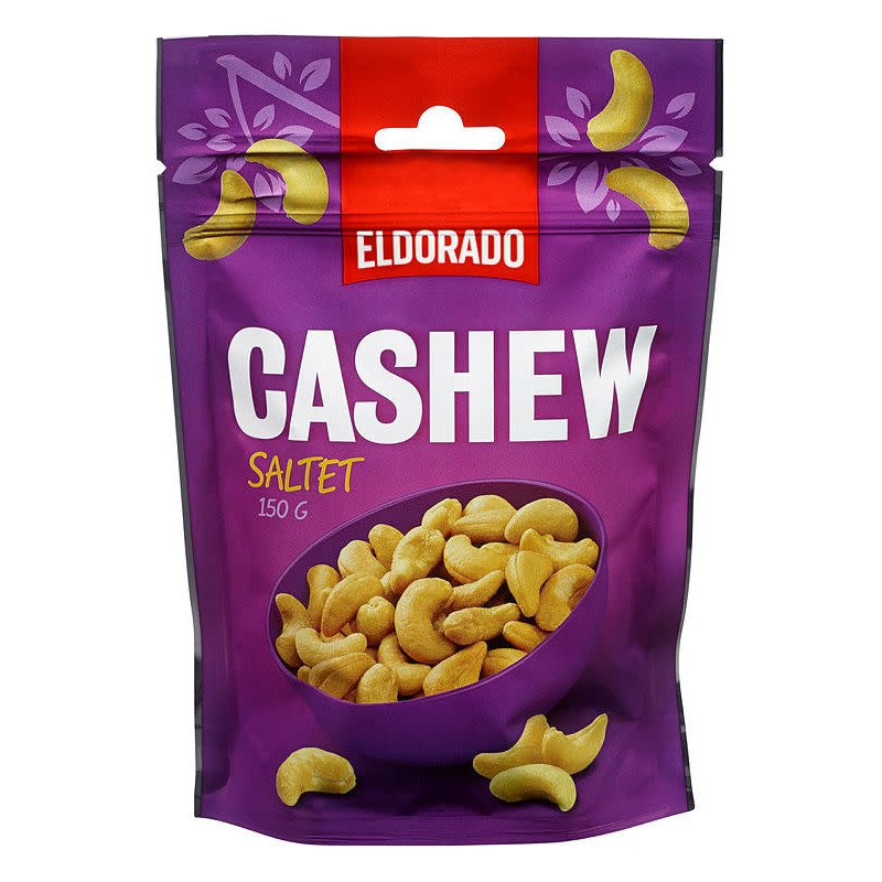 Cashew Nøtter Saltet Eldorado