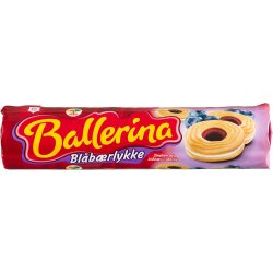Ballerina Kjeks Blåbærlykke