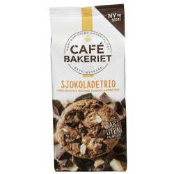 Lys Sjokoladetrio Cafe Bakeriet