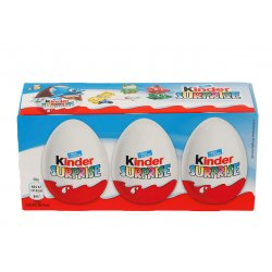 Kinderegg Surprise Sjokolade 3x20g