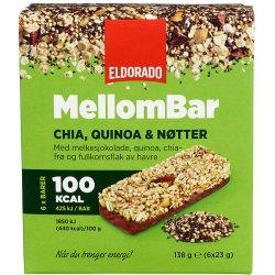 Mellombar Chia, Quinoa&Nøtter Eldorado