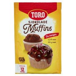 Muffins Sjokolade Toro