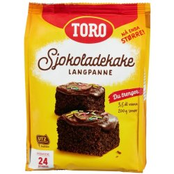 Sjokoladekake Langpanne Toro