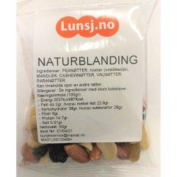Naturblanding u/Salt fra Lunsj.no (50g)