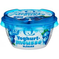 Q Yoghurtmousse Blåbær