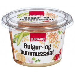 Bulgur- og Hummussalat Eldorado