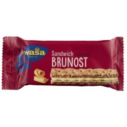 Sandwich Brunost Wasa Eske