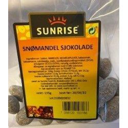 Snømandel Sjokolade Sunrise