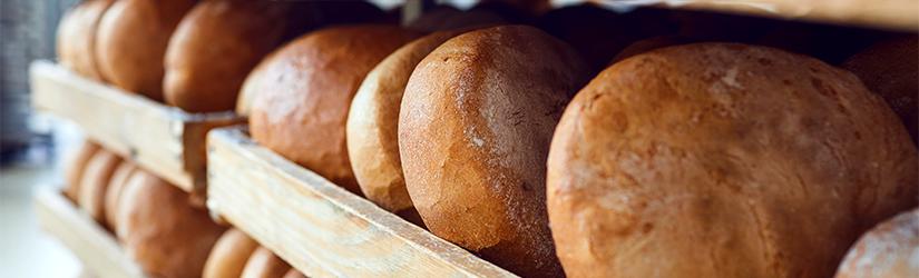 Halvstekt Brød