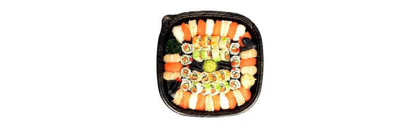 sushi lunsj